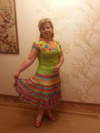 Фото. Яркий костюм для солнечного лета!  Автор работы - 2901