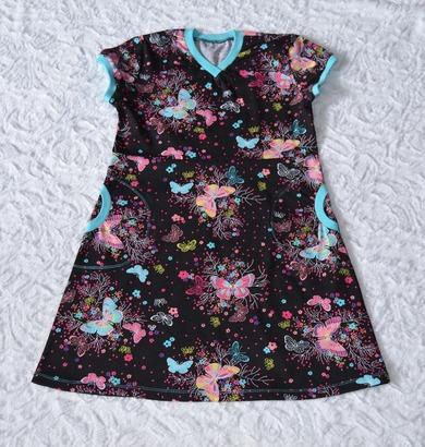 Фото. Платье из трикотажа. Автор работы - ЮлияБl