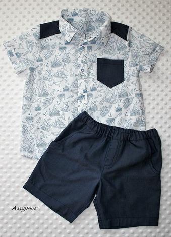 Фото. Рубашка и шорты. Автор работы - Амурчикl