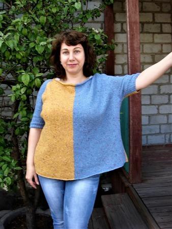 Фото. По мотивам пуловера Hayward. Автор работы - Tanykola