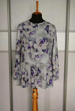 Фото. Блузка для мамы из  тонкого крепа п/э. Автор работы - Hich