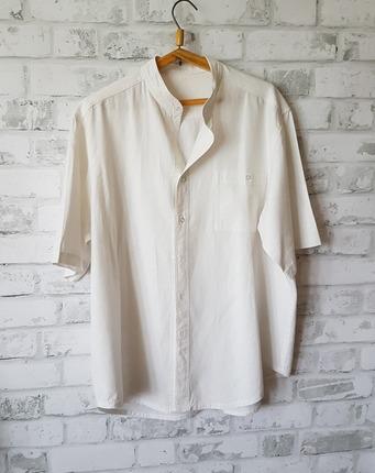 Фото. Вторая в жизни рубашка на жару для мужа. Автор работы - Лоскутик