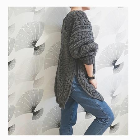 Илья Муромец от RUBAN - пуловер спицами.