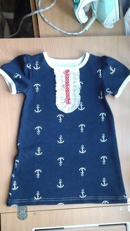 Фото. Платье для морячки. Автор работы - Cat82