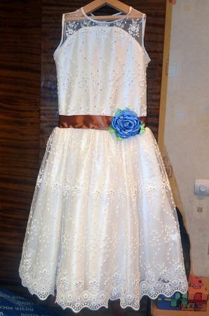 Фото. Еще одно нарядное платье. Автор работы - BabyCat
