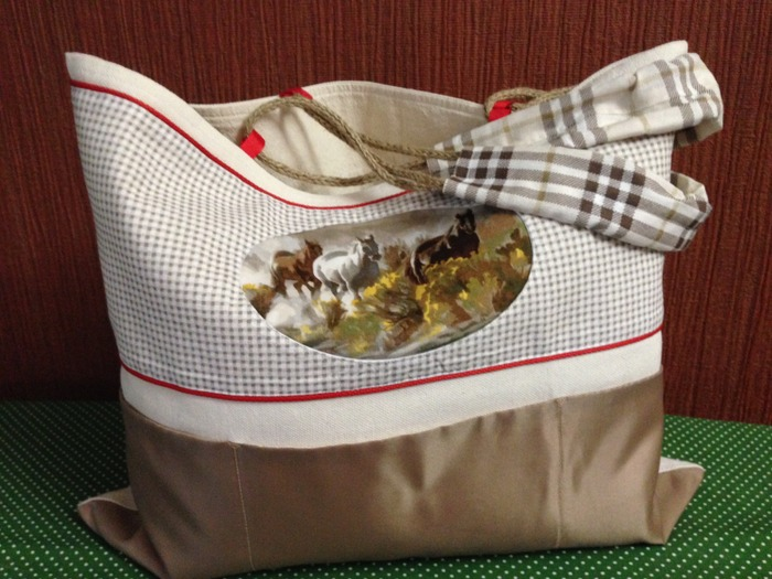 Фото. Летняя сумочка.  Автор работы - qwelle09
