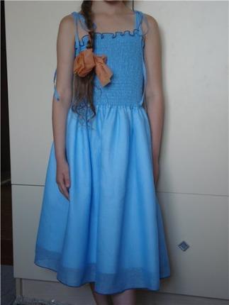 Фото. Сарафанчик для дочери из марлевки. Автор - puzirik