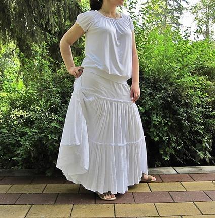 Фото. Марлевка - лучшая ткань для летней юбки. Автор - Kira Sard