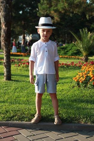 Фото. Рубашечка для сына  из тончайшего батиста. Автор - Ореховая соня