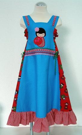 Фото. Платье в стиле пэчворк.  Автор работы - NatalieK