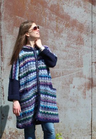 Фото. Вязаное пальто. Автор работы - innasun