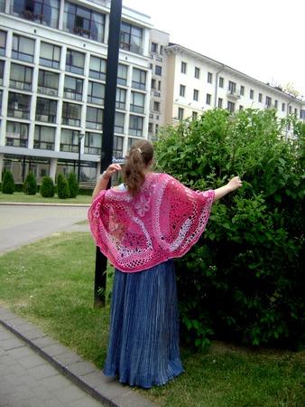 Фото. Крейзи -путанка, филейная и французская сетки, мотивы и полнейшая свобода действий.  Автор работы - Димарина