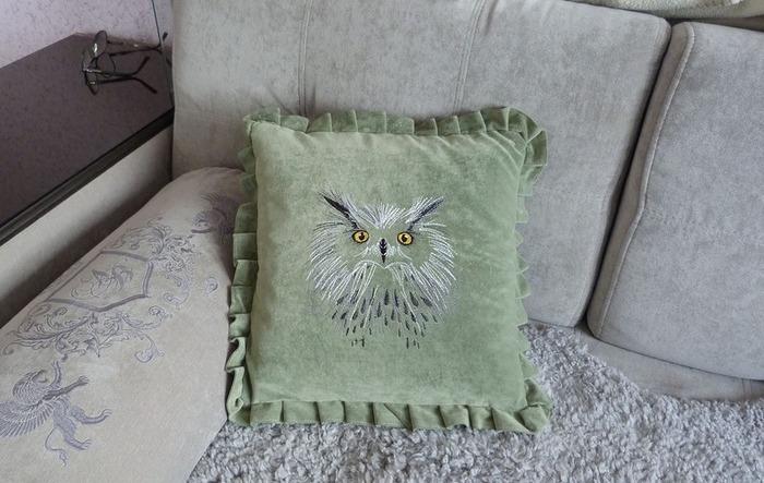 Фото. Машинная вышивка. Автор работы - Svetlana173