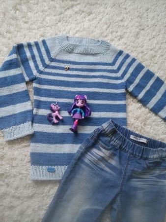 Фото. Пул для Полинки из остатков джинса. Автор работы - Светланк@