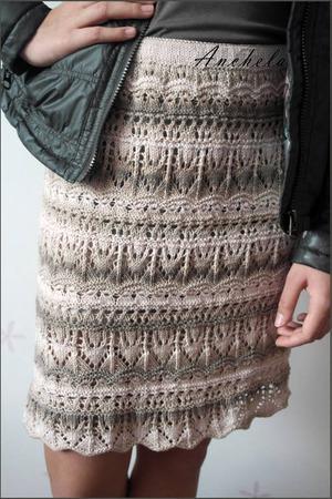 Фото. Юбочка из Vogue-knitting весна-лето.  Автор работы - Anchela