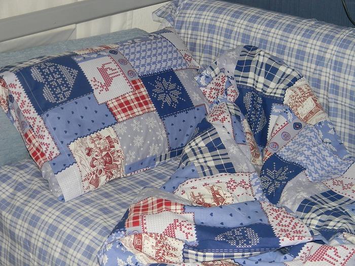 Фото. Комплект постельного белья сыну. Перкаль Трехгорка, хб 100%.  Фото - Кошка Люся