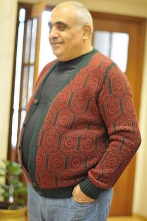 Фото. Мужской кардиган.  Автор работы - zkommo