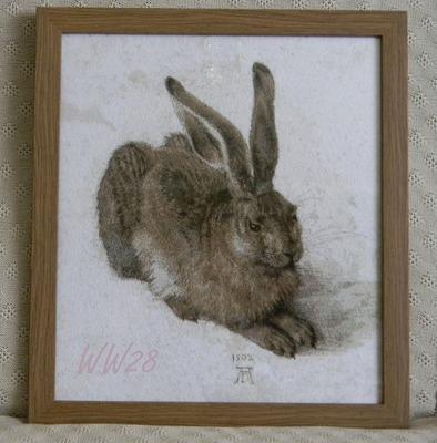 Фото. Зимой - белый, летом - серый. Вышитая картина. Автор работы - WW28