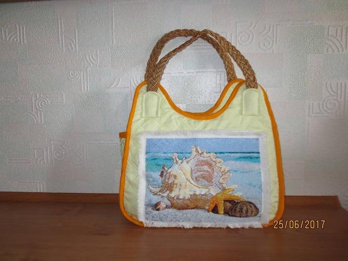 Фото. Летняя сумочка с восхитительным дизайном от Марины. Автор работы - kokteil