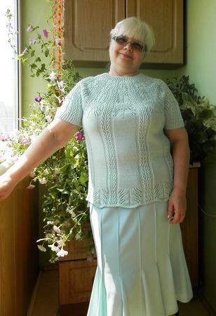 Фото. Кофточка из LKS Super Couture Knit № 5 2013. Пряжа Сеам Болеро. Автор работы - КартузскаЯ