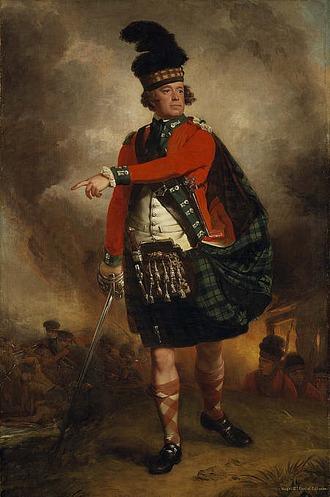 Фото. Портрет Хью Монтгомери, двенадцатого графа Эрлингтон (1739 - 1819).