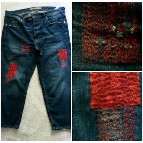 Фото. Легким движением руки джинсы превращаются.... Автор работы - baklazhanic