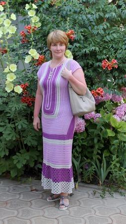 """Фото. Платье """"Сиреневая лагуна"""".  Автор работы - kolg"""