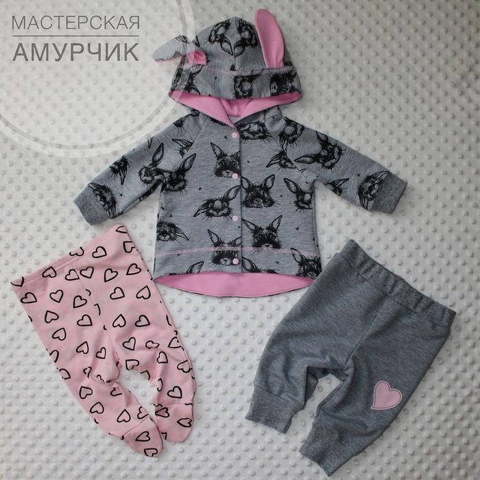 Фото. Комплект для новорожденной племянницы. Автор работы - Амурчик