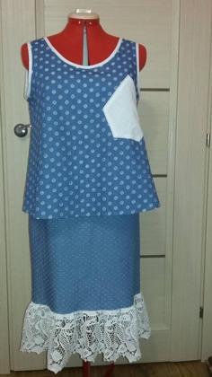 Фото. Топ и юбка. Автор работы - Tatuana505