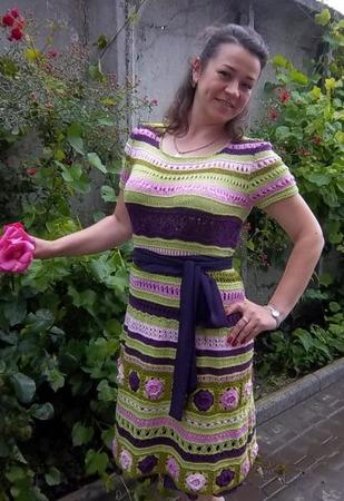Фото. Платье.  Автор работы - abuela