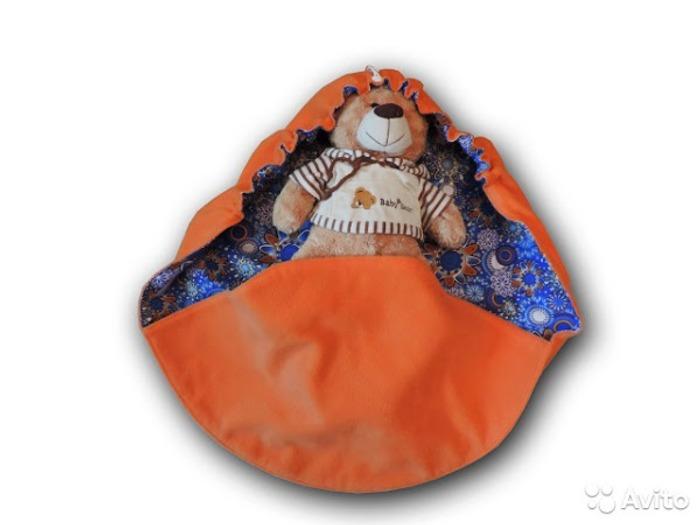 Фото. Одеялко - пеленалка.  Автор работы - ШаКсю