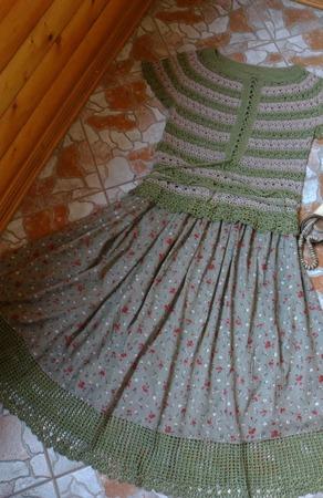 Фото. Комплект кофточка (хлопок с вискозой) + юбка из итальянского батиста.  Автор работы - Nikita 13
