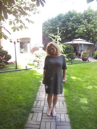 """Фото. Платье """"аля Hayward"""". Пряжа - ленточный хлопок.  Автор работы - gegev"""
