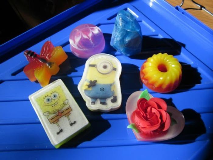 Фото. Мыло для детей. Автор работы - Jenny-T