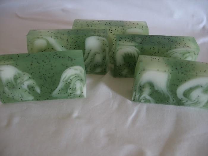 Фото. Первое мыло со свирлами. Автор работы - бонюшка