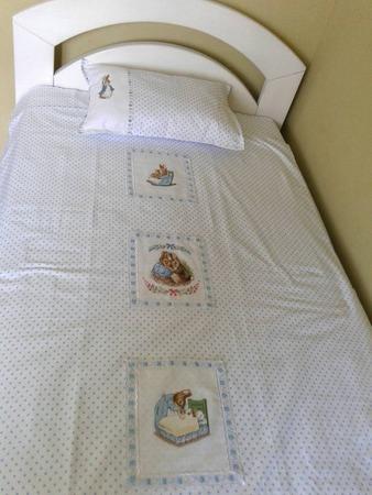 Фото. Детская постелька для племянника с мотивами вышивки.  Автор работы - IriskaDDS