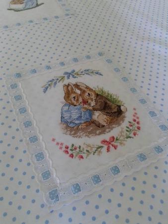 Фото. Зайчики из книги Veronique Enginger. Le monde de Beatrix Potter.  Автор работы - IriskaDDS