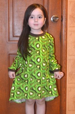 Фото. Подготовка к садику в самом разгаре - платье. Автор работы - BabyCat