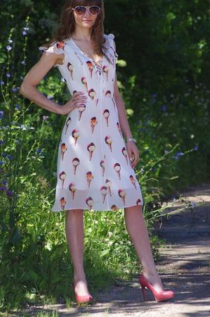 Фото. Платье из шифона. Автор работы - Kapelka