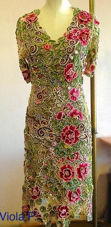Фото. Платье.  Автор работы - Виола П