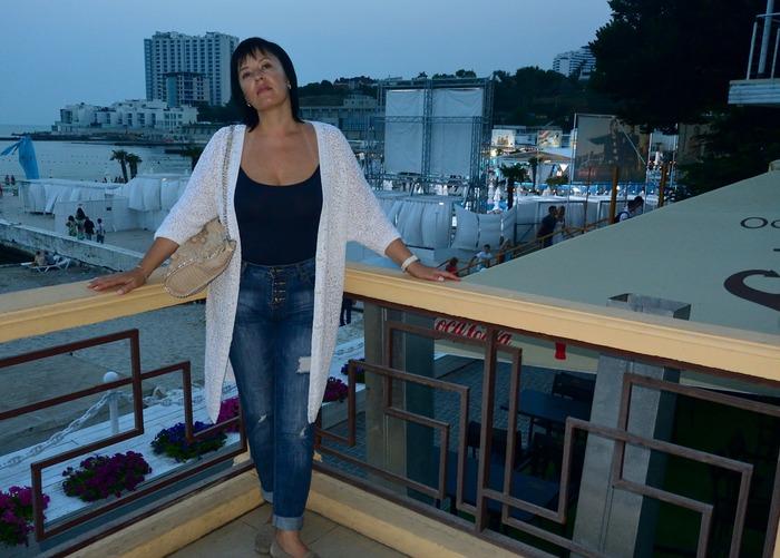 Фото. Кардиган, воплощение модели Halina из журнала Verena.  Автор работы - Trudlivaya