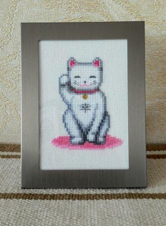Фото. Манэки-нэко, Счастливый кот. Автор работы - Pianola