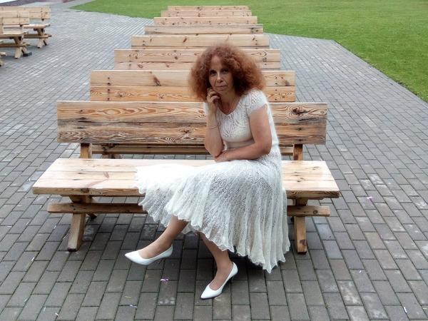 Фото. Мохеровое платье!   Автор работы - allamakosh