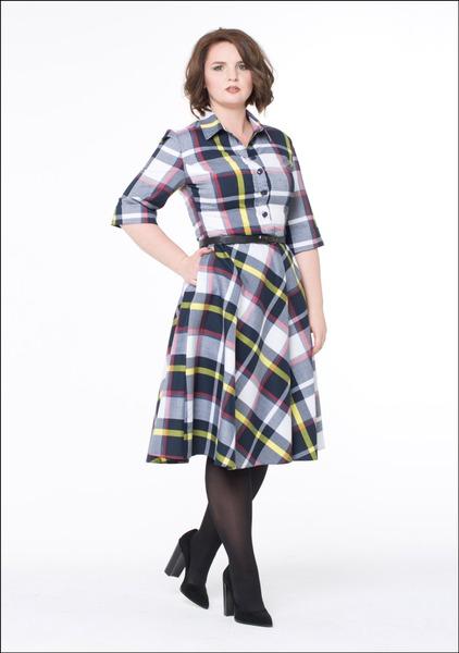 Комплект №5 . Платье – «Матрешка» (ТЦ «Охотный ряд»). Туфли – Paolo Conte (ТЦ «Охотный ряд»)