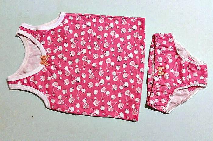 Фото. Комплект белья для доченьки.  Автор работы - ikko4ka