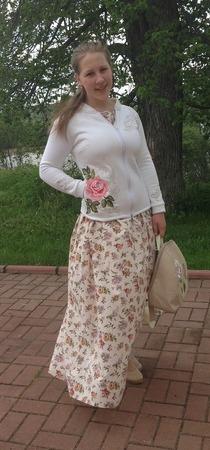 """Фото. """"Розовый сад"""" Наташи Шестаковой ... Автор работы - AnnaLila"""