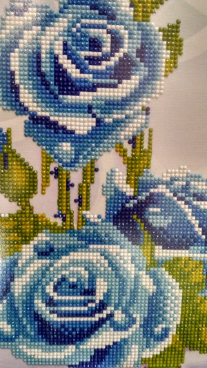 Фото. Алмазная вышивка - мозаика в современном исполнении. Автор работы - Belochka1402