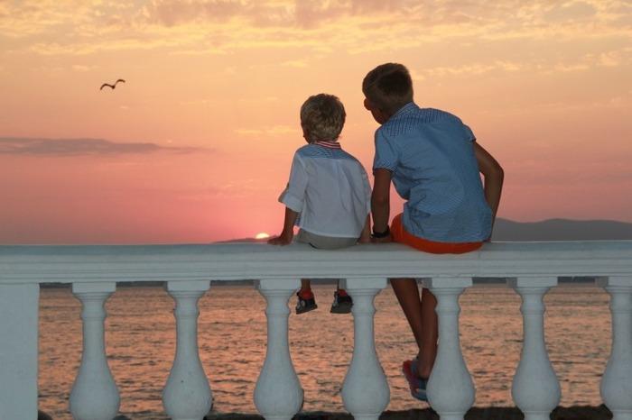 Фото. Детство. Братья.