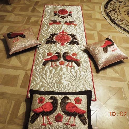 """Фото. Панно и подушки  """"Гранат в райском саду"""".  Автор работы - Nloshka"""