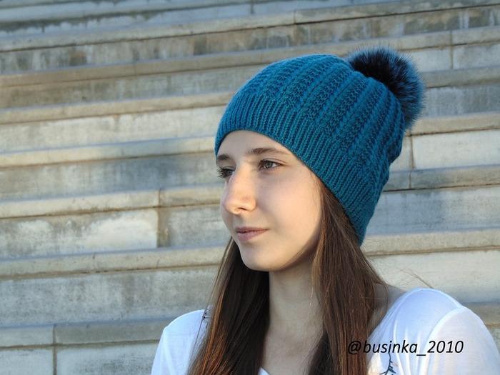 Фото. Август - нужно запасаться шапками. Модель «Tread» (Протектор).  Автор работы - Бусинка2010